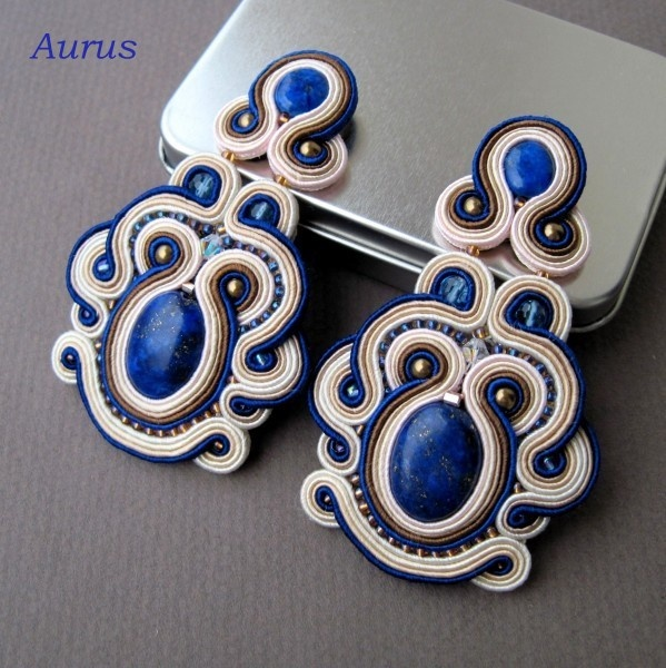 soutache - earrings :)