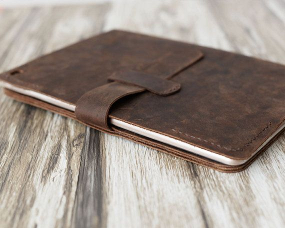 This iPad Case / Cover is made from distressed leather and handstitched up by wax thread. It will be aged beautifully over time. It is sturdy,