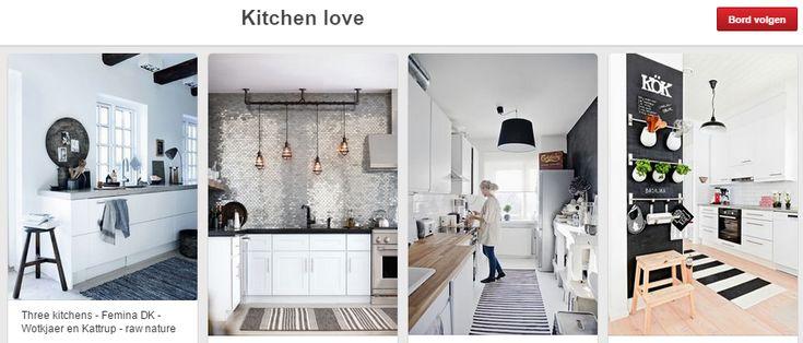 ... Keuken op Pinterest - Scandinavische Slaapkamer, Scandinavische Keuken