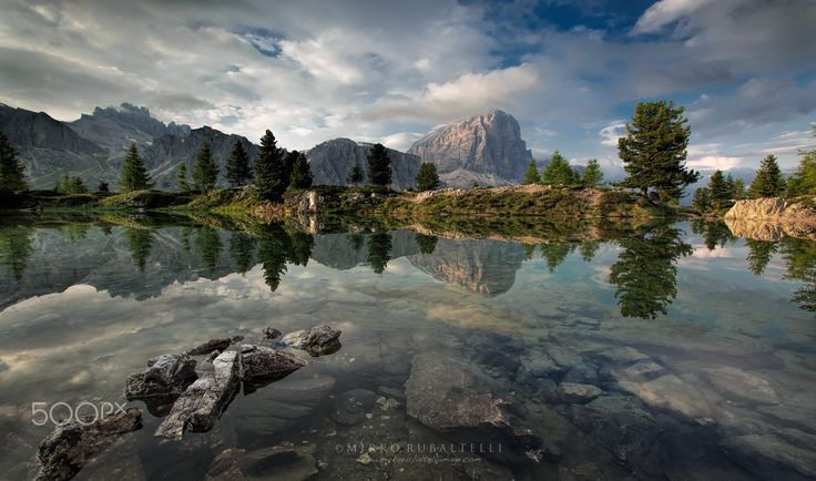 Lake of the Limides by Mirko Rubaltelli on 500px