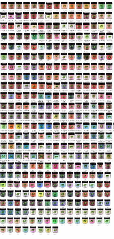 SNS dipping powder. SNS - Soak Off Color Powder. Mo Primer. Vitamins and Calcium Fortified. Signature Nail System. No Liquid. and no UV Light Needed. with over 320 exceptional colors to choose from. | eBay!