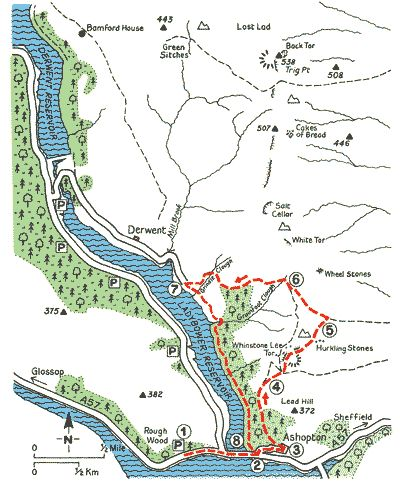 A High Ridge and Lost Villages at Ladybower - Walks - The AA