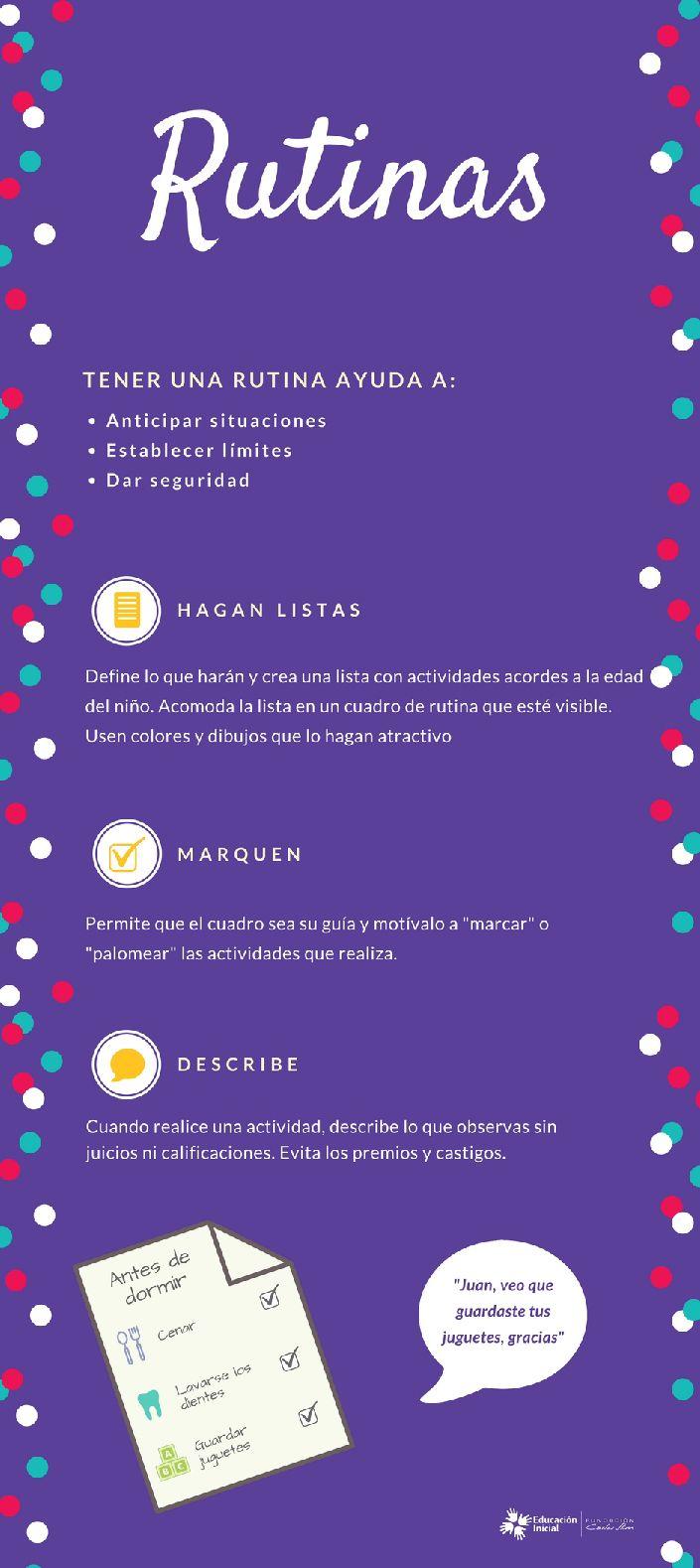 #Rutina #Habitos #Educación #Limites  #PAdres #tips #Madre #Abuelos #EnCasa #EscuelaParaPAdres #PrimerosAños