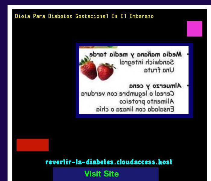 Dieta Para Diabetes Gestacional En El Embarazo 193032 - Aprenda como vencer la diabetes y recuperar su salud.