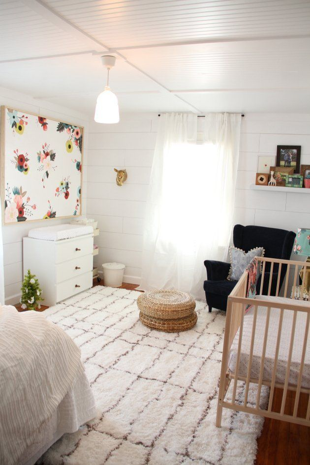 Real Room Inspiration: Nursery Plus Guest Room Dual Purpose Spaces