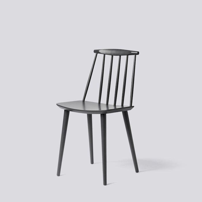 J77 Chair J Series Stone grey HAY | Hay dining chair, Hay