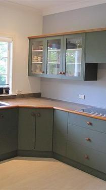 Painted Kitchen - kitchen respraying service, Ballymount based
