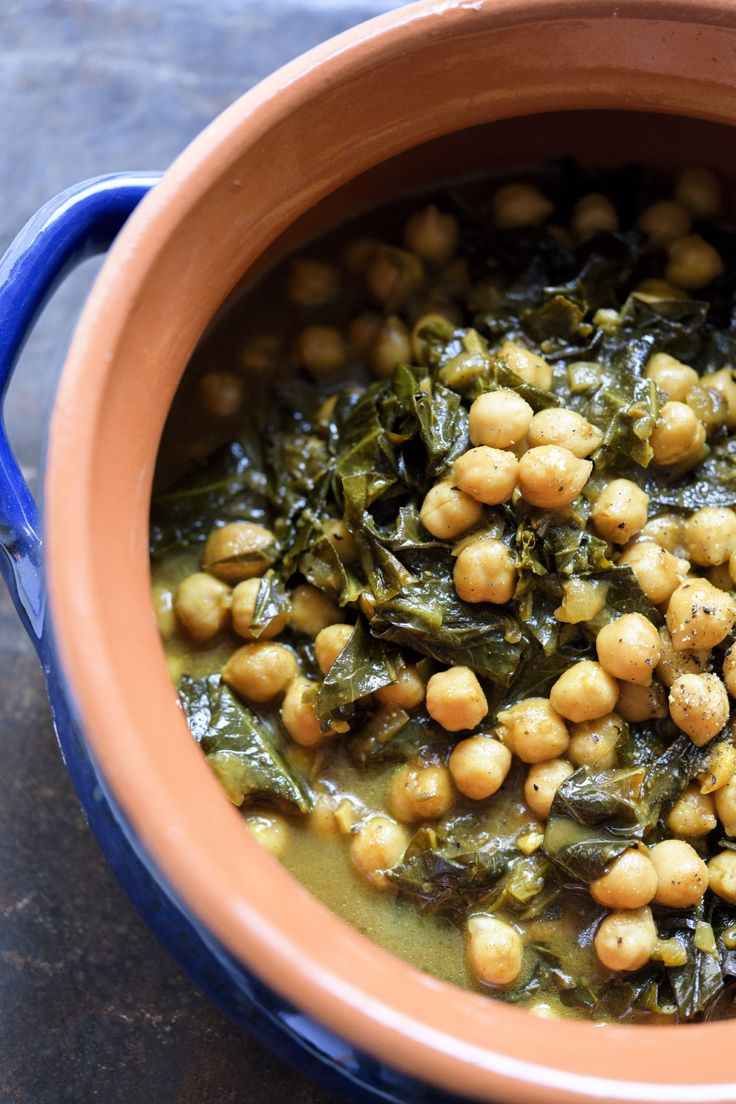 Tamarind Chickpeas with Greens from Christopher Kimball's Milk Street