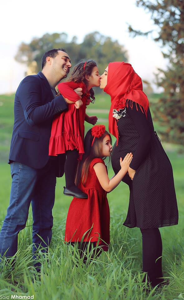 Muslims family - love - happiness
