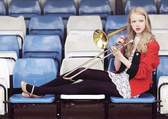 By Eleanor Hardwick. band kid senior pics