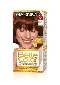 Garnier – Belle Color – Coloration permanente Acajou – 50 Acajou naturel Lot de 2