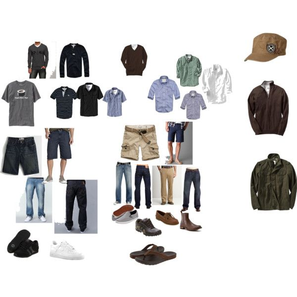 Just some examples of some of the items that he needs for his capsule wardrobe. These items can be worn year -round!