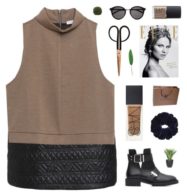 """Florida"" by xxpai ❤ liked on Polyvore featuring Zara, Holly's House, NARS Cosmetics, Magdalena, Louis Vuitton, Lux-Art Silks, Yves Saint Laurent, Pomax, Laura Cole and women's clothing"