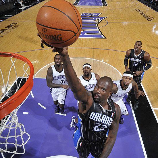 Jason Richardson, Orlando Magic. 8 janvier 2012, vs Kings.