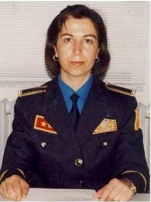 Sabiha Yalçın, ilk kadın itfaiyecimiz. (1964-)
