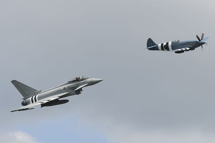 Typhoon with D-Day invasion stripes among Duxford D-Day Anniversary Airshow highlights