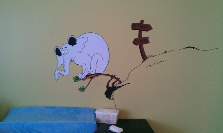 17 best images about dr suess on pinterest nursery for Dr seuss nursery mural