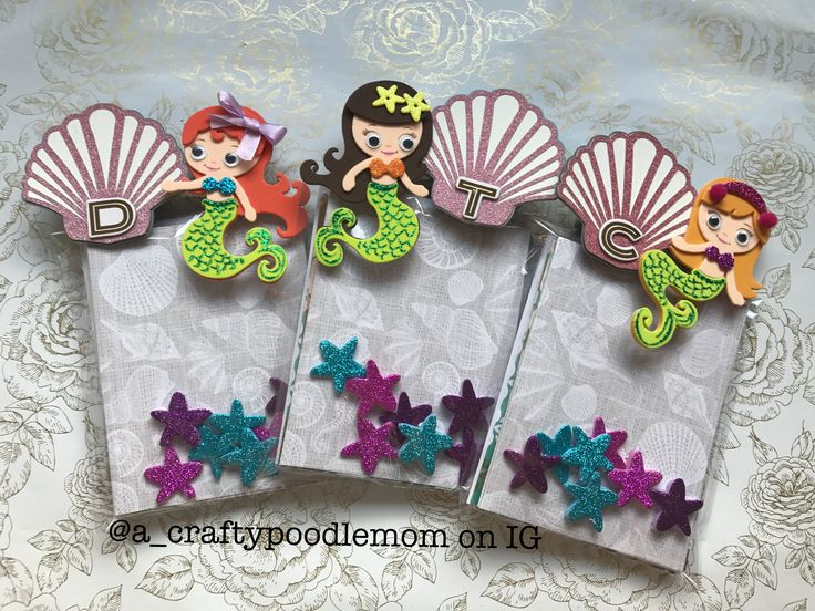 Mermaid inspired projects using Michaels craft store product Camp Creatology!