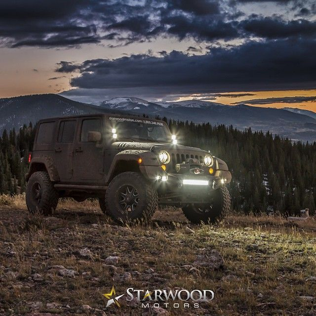 Kevlar Finished Custom Jeep.  #jeep #nature #fun #custom #amazing #sky #wheels #trailready #jeepinventory #jeeps #customjeep #custombuild #october #colorado #adventure #life #nofilter #instagood #rise #handcrafted #jeepkings