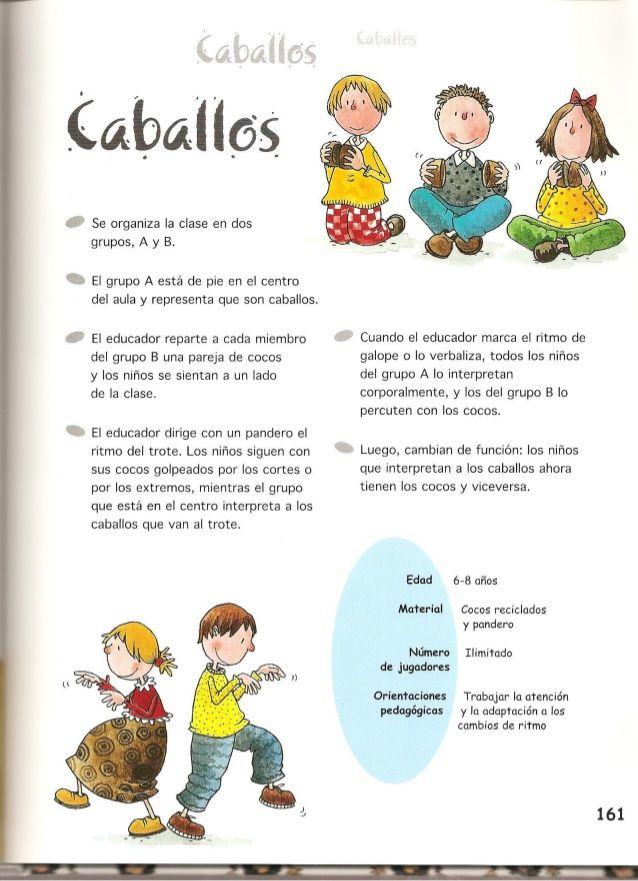 Juegos De Música Y Expresión Corporal Juegos De Expresion Corporal Juegos De Música Actividades Musicales Preescolares