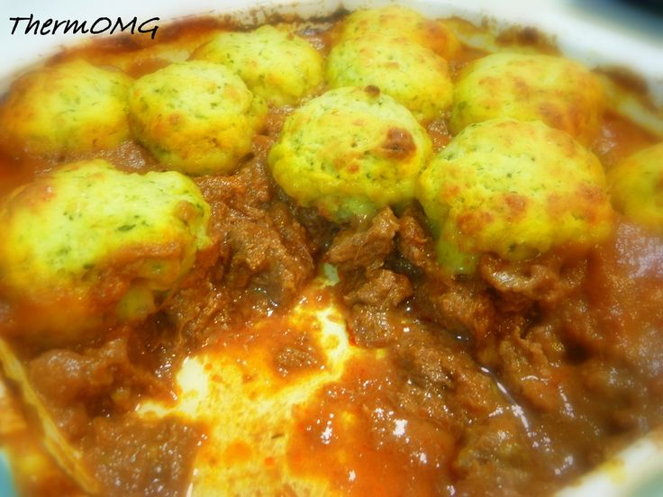 Beef Bourguignon with Basil and Parmesan Dumplings — ThermOMG