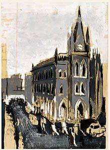 """The Bradford Exchange"" by David Hockney (1956)"