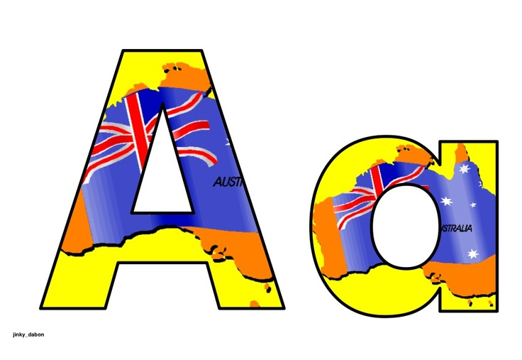 A colourful sets of alphabet and numbers Australian flag themed background. They can be used for creating beautiful wall displays, attractive posters and colourful bulletin boards. Available to download for FREE at: http://www.tes.co.uk/teaching-resource/Australian-Flag-Alphabet-and-Numbers-6192470/