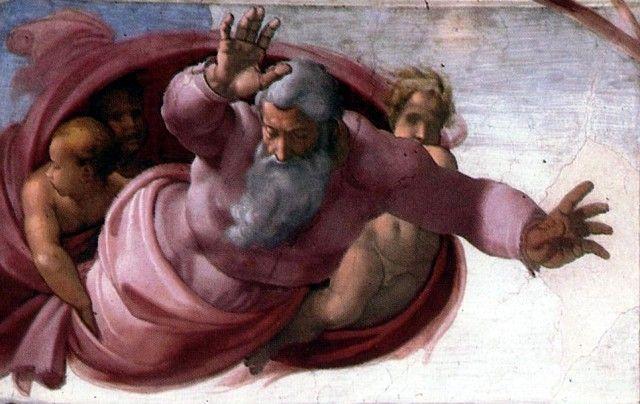 Микеланджело Буонарроти. Сикстинская капелла. Сотврение мира. - СТРАНЫ - ГОРОДА - МУЗЕИ