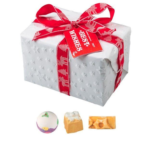 Best Wishes Lush gift box - £13.50