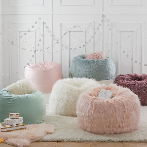 Himalayan Faux-Fur Beanbag | for my dream house in 2019