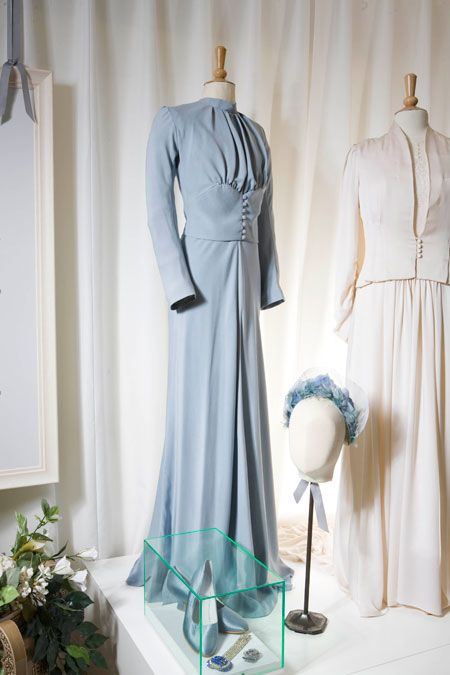 The famous wedding dress of Wallis Simpson - ode to the non-white wedding dress