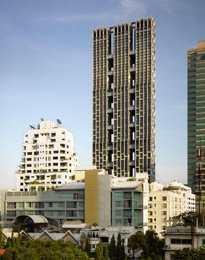 WOHA: the met residential skyscraper, bangkok