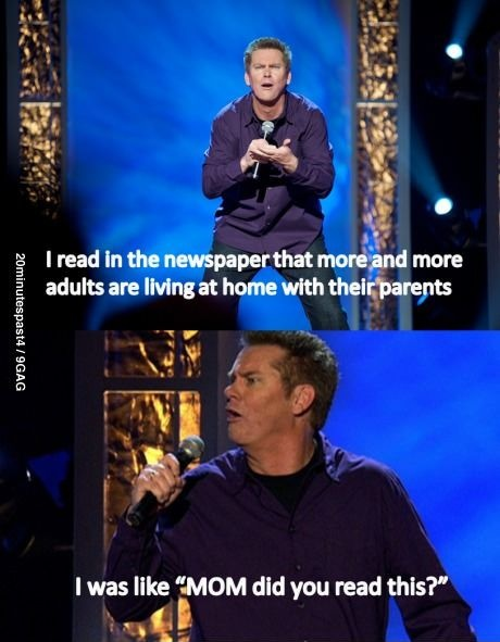 Brian Regan is the best clean comedy guy I've ever listened to.