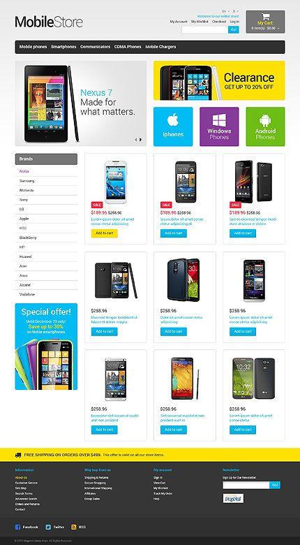 172 besten Magento Themes Bilder auf Pinterest | Vorlagen, Website ...