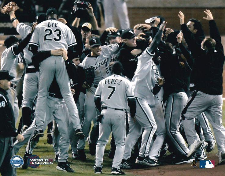 2005 World Series White Sox Chicago White Sox  8x10 Photo Picture STEINER