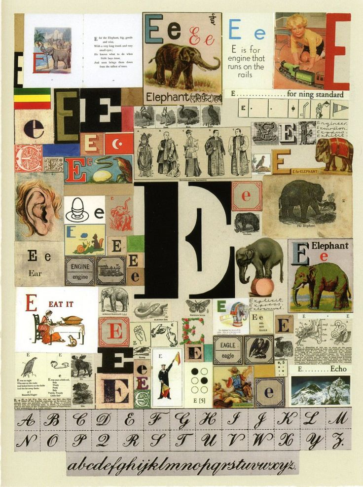 The Letter E Alphabet art, Peter blake, Pop art images