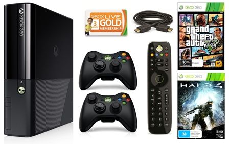 Xbox 360 250GB Console Bundle