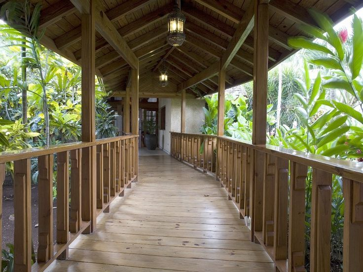 24 best covered walkways images on pinterest covered for Breezeway connecting garage to house