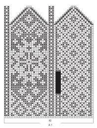 Bilderesultat for votter med mønster