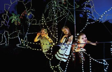 Featured events - Hunter Valley Gardens Christmas Lights Spectacular   Hunter Valley Wine Country. When: 15 November 2013 to 26 January 2014 Location: Hunter Valley Gardens - 2090 Broke Road, Pokolbin NSW 2325, Australia