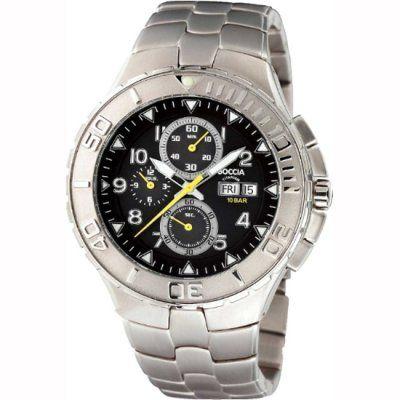 Boccia Mens Titanium Chronograph Watch - B3770-01 - RRP £195.00 - Online Price £155.00
