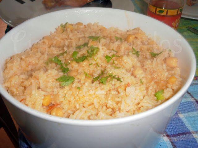 Cinco sentidos na cozinha: Arroz de grão em molho de tomate