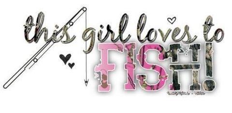 Fishing for girls.
