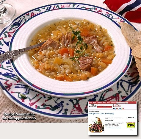 Pea Soup from Western Norway / Ertesuppe fra Stryn