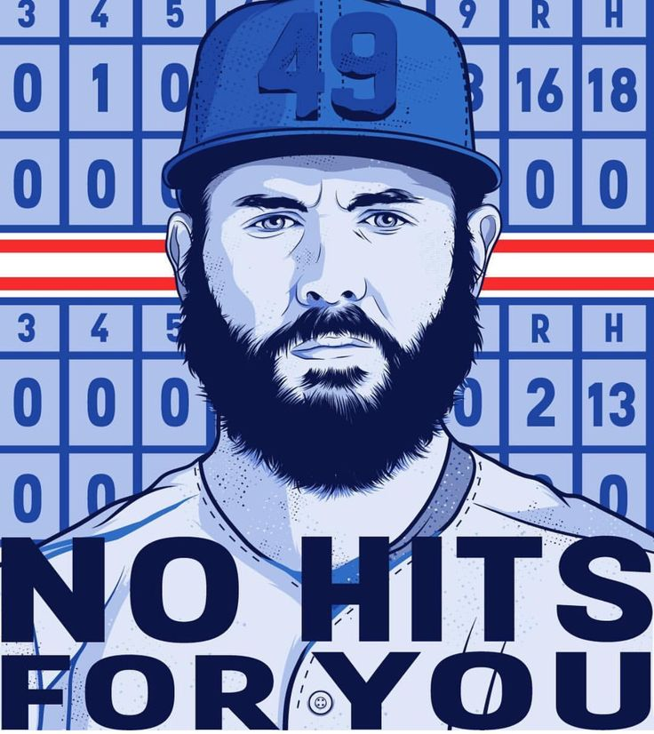 No hits for you! Jake Arrieta
