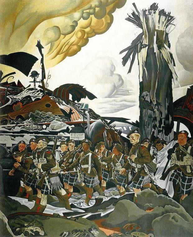 Eric Kennington The Conquerors, 1920