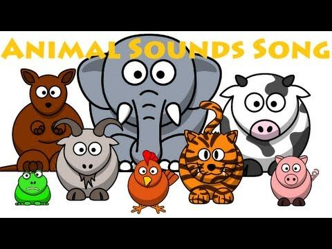 ▶ Animal Sounds Song - YouTube