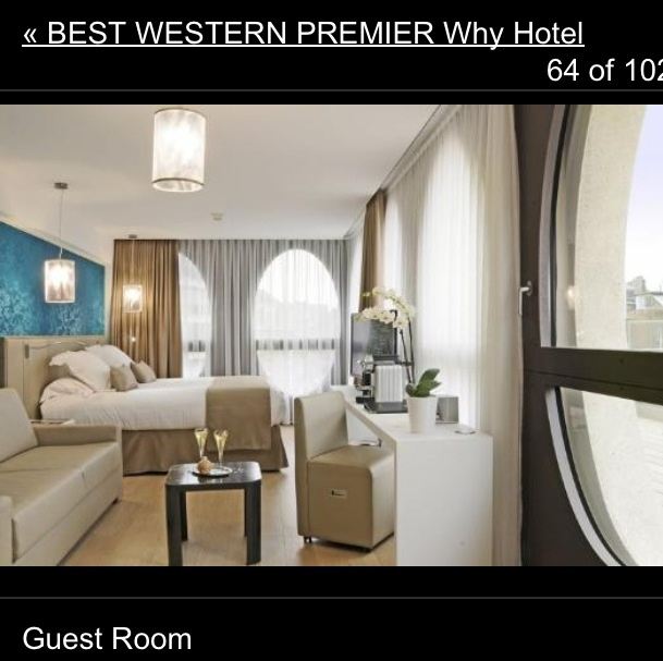 Best western premier why - Lille - hotel that we are staying in