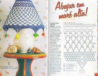 Crochet Vases and lamp shades - diamondinapril - Picasa Web Albums