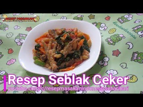 Resep Seblak Ceker Bandung Di 2020 Resep Masakan Indonesia Resep Resep Masakan